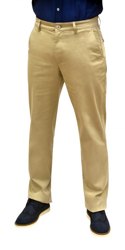 Regular Fit Beige Chinos
