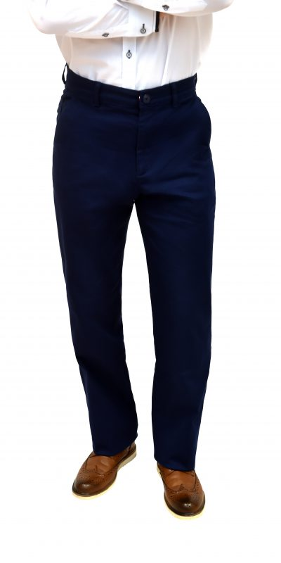 Regular Fit Blue Chinos