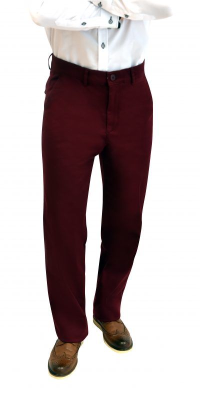 Regular Fit Wine Chinos
