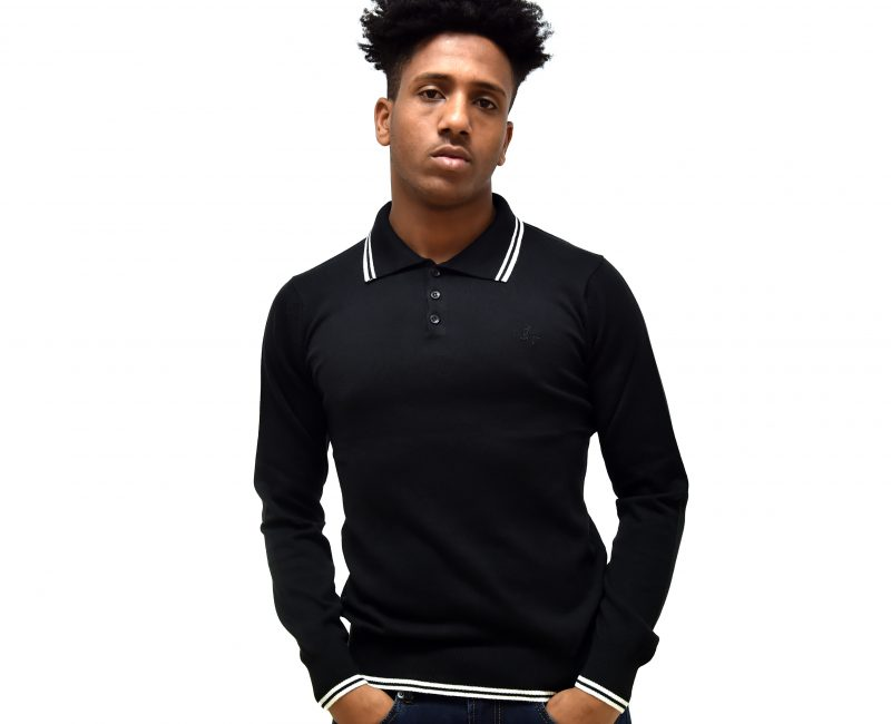 Best Lightweight Black 3 Button Jumper