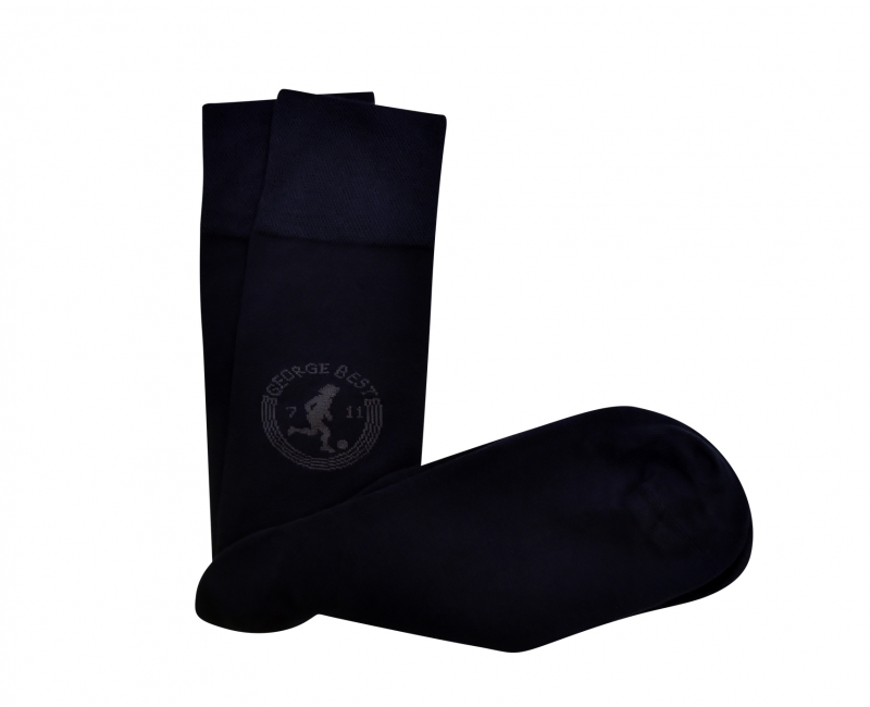 Navy Socks Four Pack