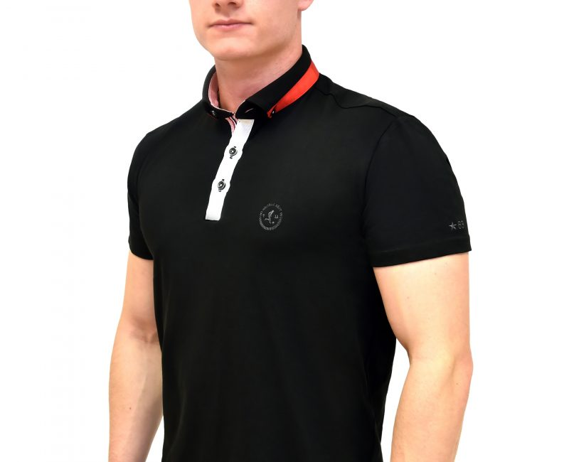 Best Black Polo Shirt With Contrasting Collar