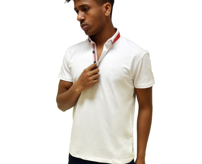 Best White Polo Shirt With Contrasting Collar