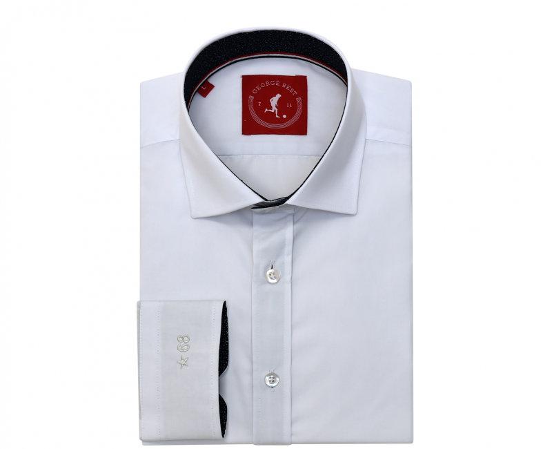 Classic Tailored Fit White Shirt