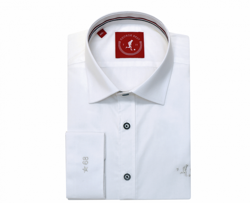 Best Tailored Fit White Oxford Fit Shirt